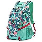 High Sierra Loop-Backpack, School, Travel, or Work Bookbag with tablet-sleeve, Mermaid, One Size
