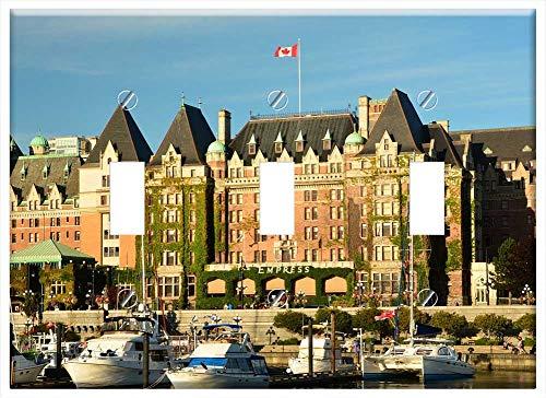 Switch Plate Triple Toggle - Empress Hotel Victoria Inner Harbor Travel British