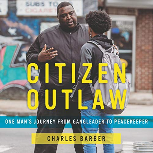 Citizen Outlaw audiobook cover art