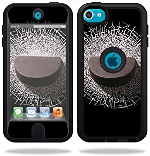 MightySkins Skin Compatible with OtterBox Defender Apple iPod Touch 5G 5th Generation Case Hockey