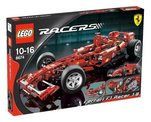Lego Racers 8674 - Ferrari F1 1:8