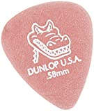 Dunlop 417P.58 Gator Grip, Red, .58mm, 12/Player's Pack, .58mm | Red, 12 Pack