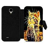 Book Style Flip Handy Tasche Case Schutz Hülle Schale Motiv Etui für Huawei Ascend Y300 - A11 Design9