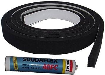 Garage Door Guru Neoprene Gap Filling Seal Draught Excluder For A 11 Ft Garage Door Amazon Co Uk Diy Tools