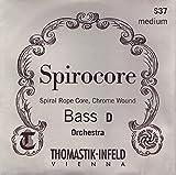 Thomastik Cuerdas para Contrabajo Spirocore alma en espiral afinación Solista juego 3/4 m...