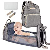 Baby Bed Backpack, 4-in-1 Travel Baby bassinets Foldable Baby Bed - Upgrade Baby Diaper Bag, Portable Baby...