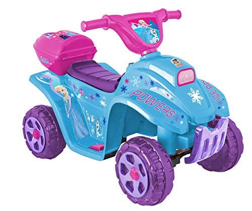 Apache | Cuatrimoto Eléctrica | para Niños de 3 Años en Adelante | Modelo Frozen | Color Azul |…