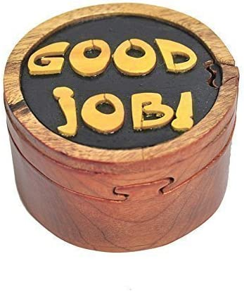 2021new shipping free shipping Max 42% OFF South Asia Trading Handmade Wooden Art Secret Trick Goo Intarsia