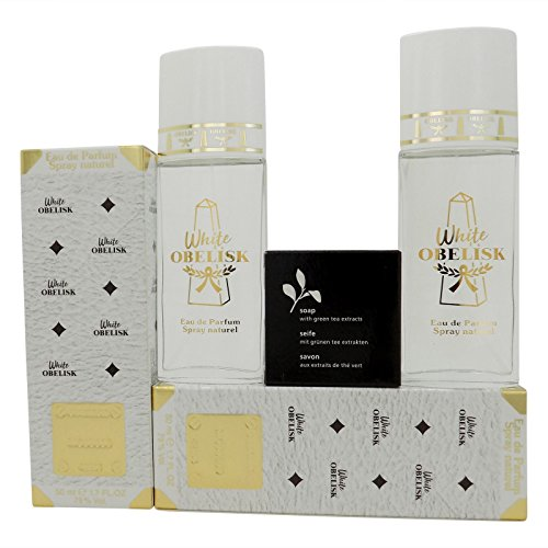WHITE OBELISK by Loft Monaco Eau de Parfum Spray 2 x 50 ml