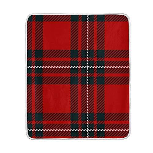 SS Blanket Manta de Cuadros Escoceses para sofá