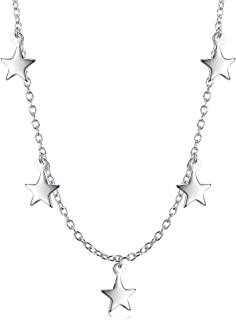 Best star necklace layered Reviews