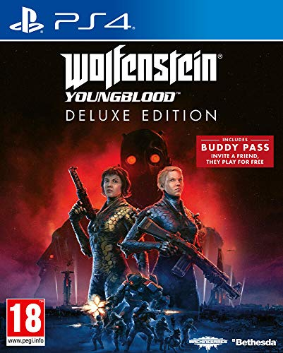Wolfenstein Youngblood - Deluxe Edition (Deutsche Version) - PlayStation 4 [Importación alemana]