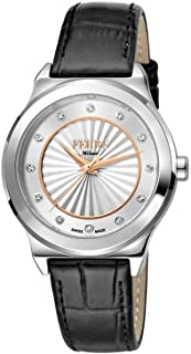 Ferre Milano Casual Watch For Women Analog Leather - FM1L125L0201