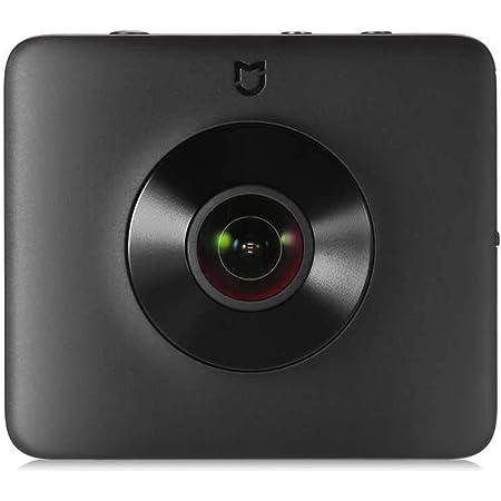 Xiaomi Mi Sphere Camera Kit ZRM4030GL, Videocamera panoramica 360, Risoluzione video da 3,5 K, Nero