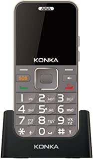 Konka U6 (3G, Keypad, 5MP) - Mocha Gold - [Australian Stock]