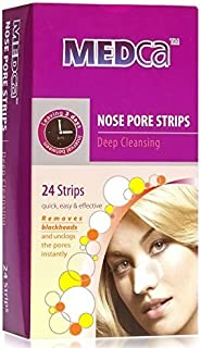 MEDca Deep Cleansing Nose Pore Strips, 24 Count (Packaging May Vary)