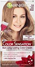 Garnier Hair Color Color Sensation Rich Long-Lasting Color Cream, 7.0 Dark