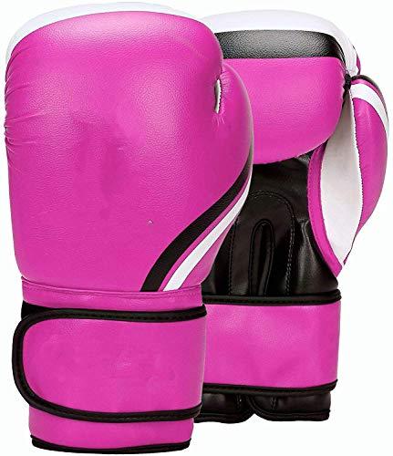 On The Run Boxhandschuhe für Training - Muay Thai, Sparring, Kickboxen, Kämpfen, Fokus-Pads, Boxsack Mitts, Kampfsport, Trainings-Handschuhe,Lila,12oz