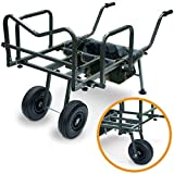 Carp Fishing Barrow With Storage Bag Double or Single Wheel Trolley DYNAMIC