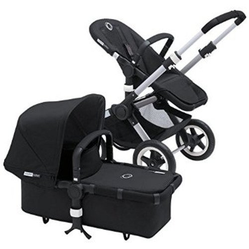 Review Bugaboo 2015 Buffalo Stroller Complete Set in Aluminum and Black