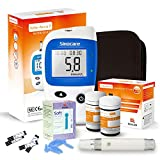 Sinocare Glucose Kit/Blood Glucose Monitoring System Safe Accu2 /Blood Glucose Sugar Test Kit
