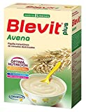 Blevit Plus Avena - Papilla de Cereales para Bebé Sin Azúcares Añadidos - Con Avena y el Trigo para favorecer el tránsito intestinal - Desde los 6 meses - 300g