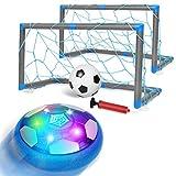 ARANEE Air Power Football, Jouets Enfants Ballon de Football Rechargeable avec LED Lumière Jouet Hover Soccer Ball Jouet