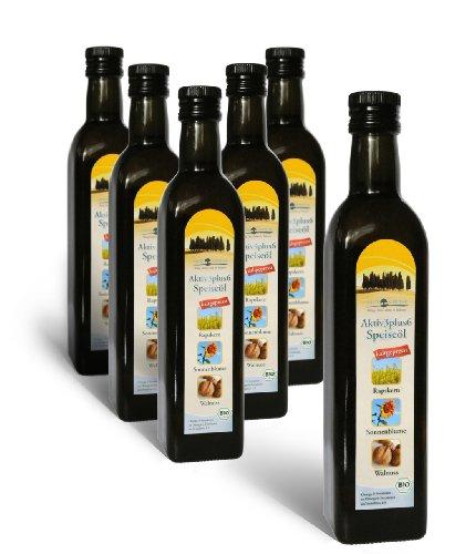 Sana Essence Bio Aktiv 3plus6 Speiseöl, 6 x 500ml