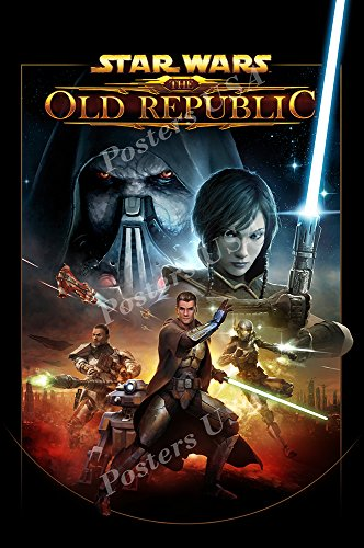 Posters USA Star Wars The Old Republic Movie Poster GLOSSY FINISH - FIL201 (24' x 36' (61cm x 91.5cm))