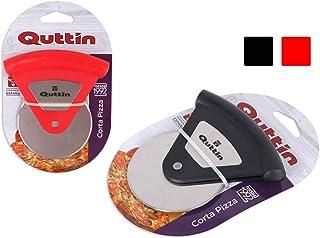 Quttin Cortador De Pizza Quttin Soft Acero Inoxidable Negro