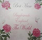 "White Cotton Cards ""Best Mum"