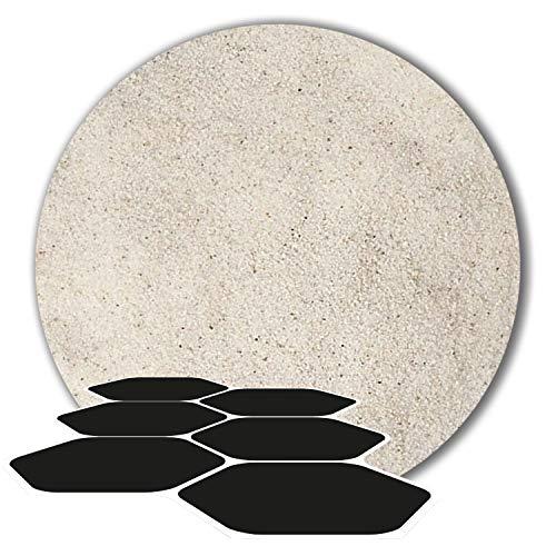 25 kg Fugensand Einkehrsand Quarzsand weiß naturweiß (0,1-0,4 mm)