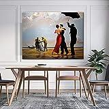 wojinbao Malen auf LeinwandDancing Hopper Canvas NGS