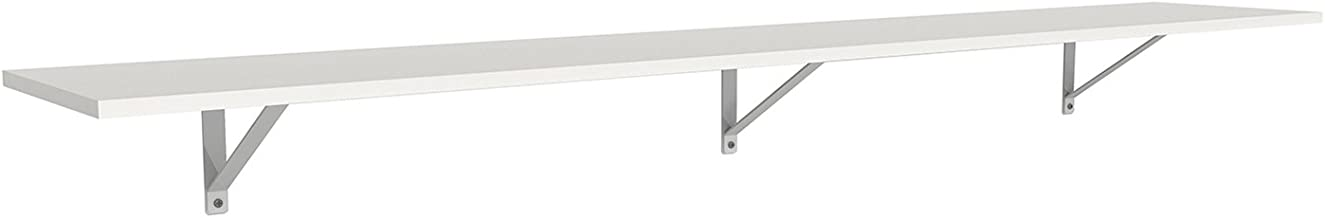 ClosetMaid 3304840 Wood Shelf Kit, 6-Foot X 12-Inch, White