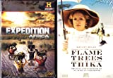 Flame Trees Of Thika Memoir Of An African Childhood , Expedition Africa an Explorers Adventure : A&E 5 Disc African Adventure Collection
