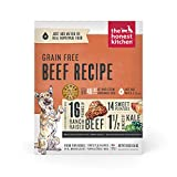The Honest Kitchen Human Grade Dehydrated Grain Free Dog Food – Complete Meal or Dog Food Topper – Beef 10 lb (makes 40 lbs)
