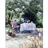 5D DIY Diamant Malerei Landschaft Garten Esstisch Platz Diamant Stickerei Set Diamant Mosaik Bild Home A9 30x40 cm
