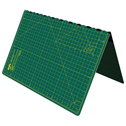ANSIO Alfombra de corte plegable autocurativa A2. Ideal para Manualidades, Acolchados, Costura,...