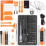 Precision Set,XOOL 150pcs With Magnetic Driver Kit, Professional Electronics Repair Tool Kit with Portable Oxford Bag for Repair Cell Phone, iPhone, iPad, Watch, Tablet, PC, MacBook