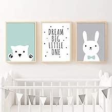 Panda Pandabababy Taille DIN A3 Poster Chambre de b/éb/é Images myprinti/® Set de 3 Affiches de Chambre denfant Animaux De Zoo Asie gar/çon Fille b/éb/é