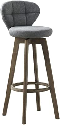 Amazon.com: Counter Height Bar Stools, Fabric Upholstered ...