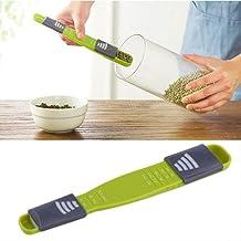موازين المطبخ، ملعقة قياس إلكترونية ميزان طعام صغير محمول، أدوات مطبخ لمسحوق القهوة ومسحوق الشاي وللاستخدام المنزلي والمطبخ