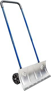 Heavy Duty 24' Two-Wheel Aluminum Blade Durable Edge Snow Pusher Shovel