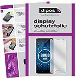 dipos I 2X Schutzfolie klar kompatibel mit Oukitel K8000 Folie Bildschirmschutzfolie