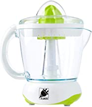 J-Jati Citrus Juicer Extractor: Compact Juicer for Healthy Juice, Oranges, Lemons, Limes, Grapefruit & other Citrus Fruit with Easy Pour Spout + 32 oz Pitcher White
