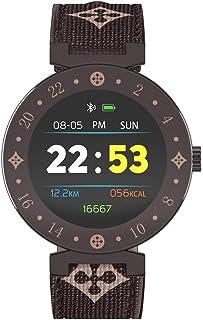 Reloj Inteligente, IP67 Impermeable Monitor de Sueño Reloj Pulsómetro Rastreador de Ejercicios Recordatorio sedentario Bluetooth Podómetro para Hombres Mujeres