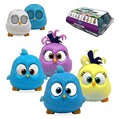 JOLLIBARREL Hatchling Hatchies Collections - 4 Hatchies with 2 Changeable Cover Cases, Mix Match and Create New Combinations, Bounce Like Real Hatchies