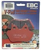 EBC Brakes FA400V Semi Sintered Disc Brake Pad, Black, One-Size