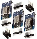 ✅ Sichern Sie sich jetzt drei D1 Mini NodeMcu mit ESP8266-12F zum Vorteilspreis mit Mengenrabatt! ✅ Der AZ-Delivery D1 mini ist ein Mini-NodeMcu WiFi Board basierend auf einem ESP-8266-12F. Dieses WLANboard enthält 11 digitale Ein- / Ausgangspins, al...