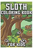 sloth coloring book for kids: coloring book for adults 3-9 years old
